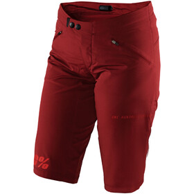 100% Ridecamp Shorts Damen brick